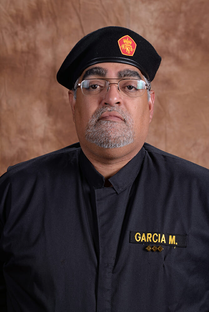 Commander Sir Martin Garcia
