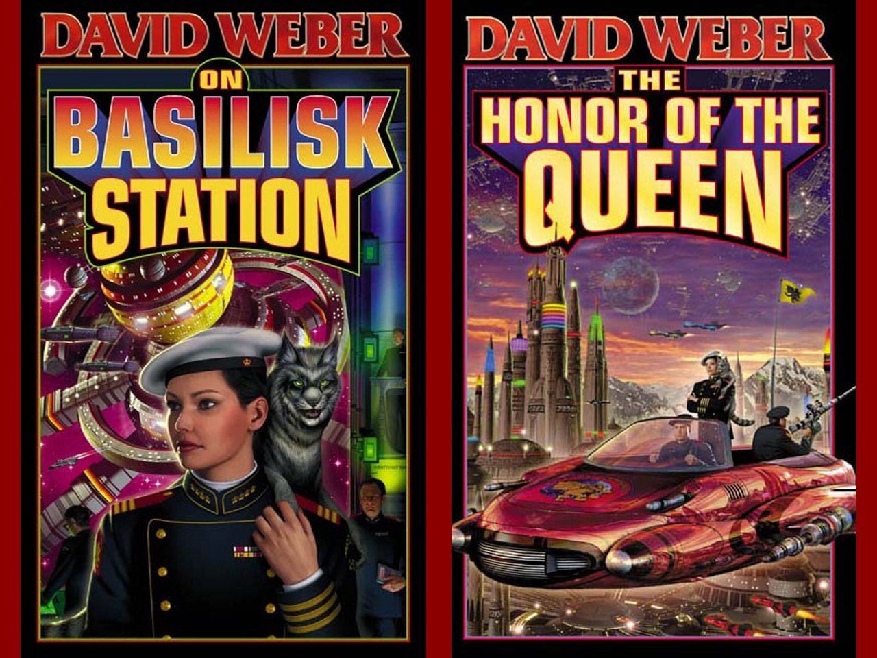 Honor Harrington Series covers